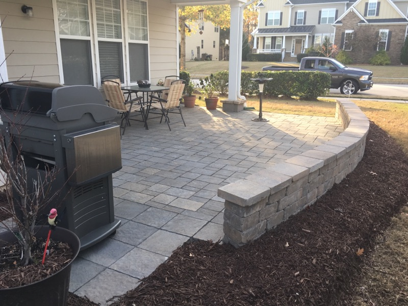 Custom Built Patio
